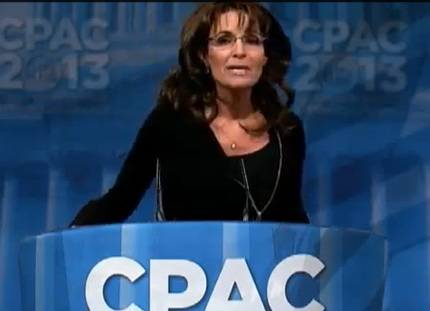 Sarah Palin – CPAC 2013 – Full Speech- Ted Cruz intro