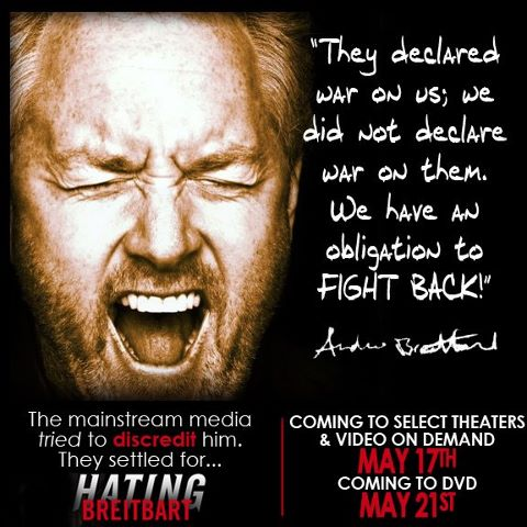 Hating Breitbart Opened On Friday