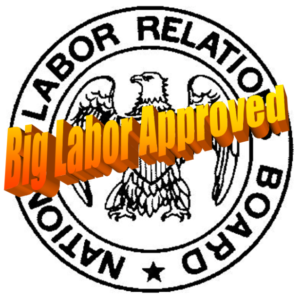 Unconstitutional Appointments – Big Labor