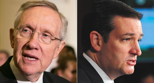 Video: Harry Reid calls Sen. Ted Cruz a 'schoolyard bully'