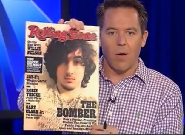 Greg Gutfeld criticizes Rolling StoneMagazine