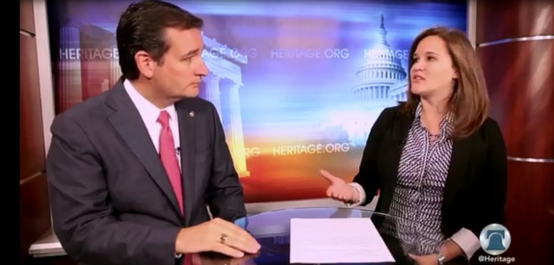 Heritage Interviews Ted Cruz about Defending Obamacare