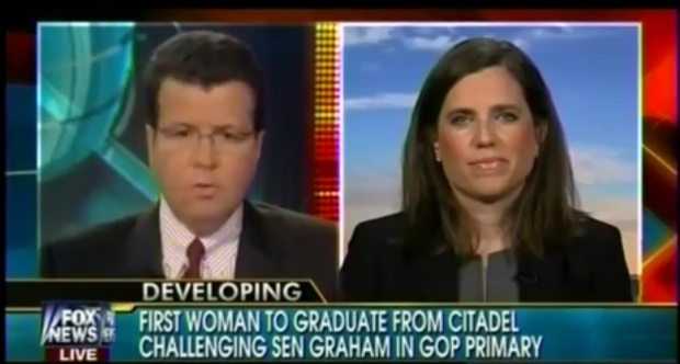 Nancy Mace Challenging Rino Lindsey Graham