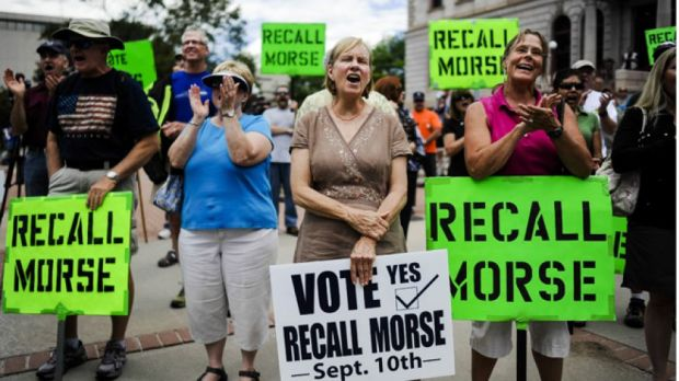 Historic Recall Vote -2 Colorado State Lawmakers Voted Out Over Gun Control Law