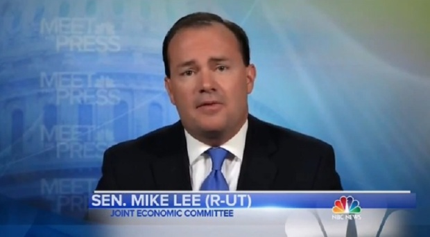 """Sen. Mike Lee on The Horrible """"Meet The Press""""Yesterday"""