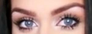 my eyes big