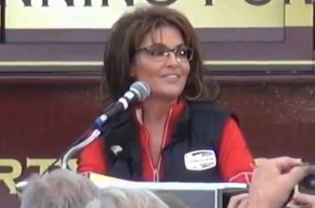 Gov. Palin Campaigning For Lonegan In New Jersey