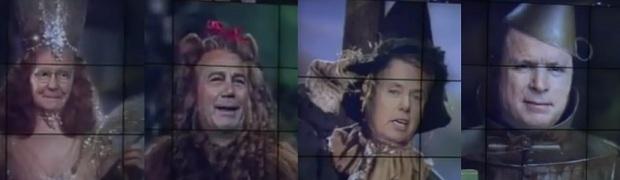 "The Rinos Star in ""Karl Rove -The Wizard ofOz"""