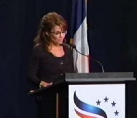 Sarah Palin -Iowa Faith and Freedom Coalition