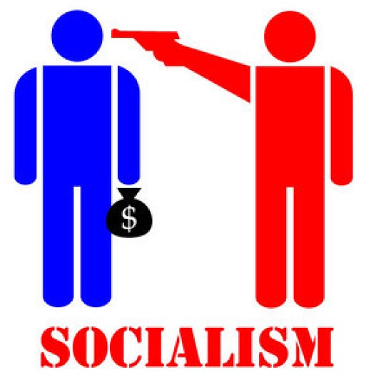 Why does the message of socialism appeal to some?