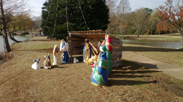 Air Force Removes Nativity Scene
