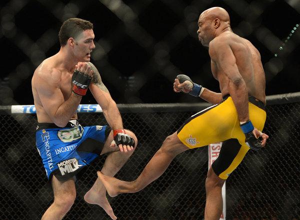 UFC 168: Gruesome injury forSilva