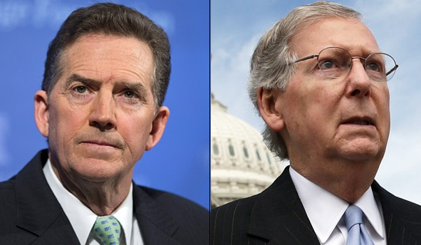 Rinos Versus Conservatives -The DeMint–McConnell Feud