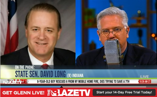 Article V- State Sen. David Long On The Glenn Beck Program