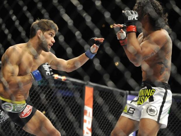 UFC Benson Henderson beats JoshThomson