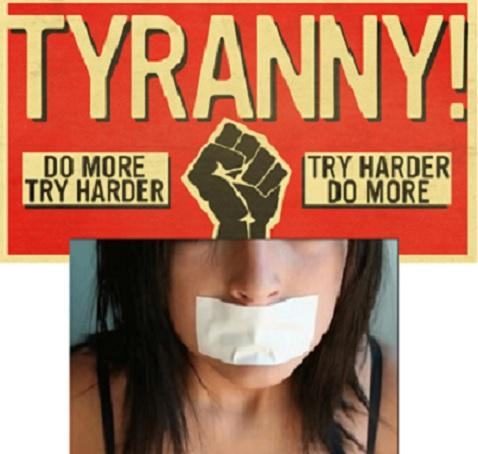 The Obama Regime SilencesOpposition