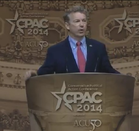 Sen. Rand Paul – Full Speech From CPAC 2014