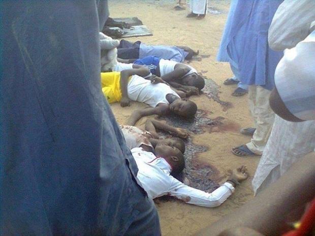 Boko Haram Muslim Terrorists Massacre At Least 200 Christian Children on the Way toSchool