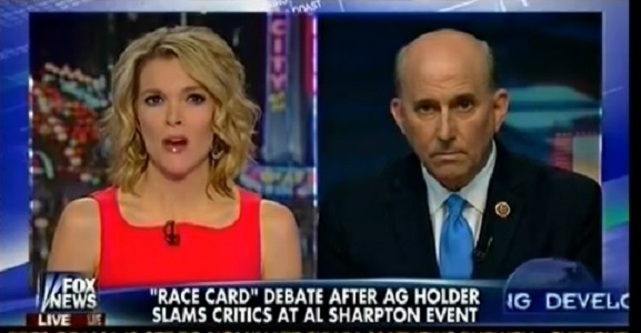 Louie Gohmert Talks about AG Holder Pulling The Race Card Out