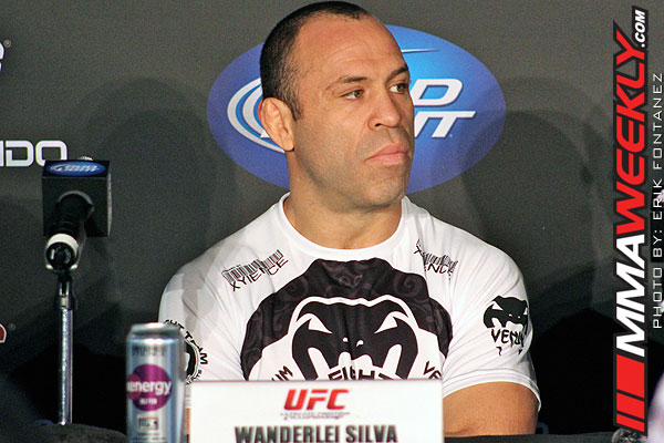 Is Wanderlei Silva In or Out of UFC 175… Is He Even Still a UFC Fighter?