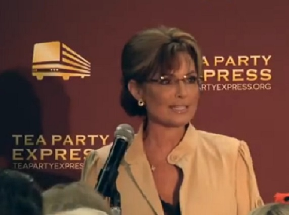 Gov. Sarah Palin Appears with Col. RobManess