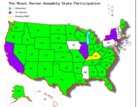 State Participation Map