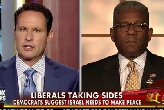Allen West Speaks out in favor of Israel