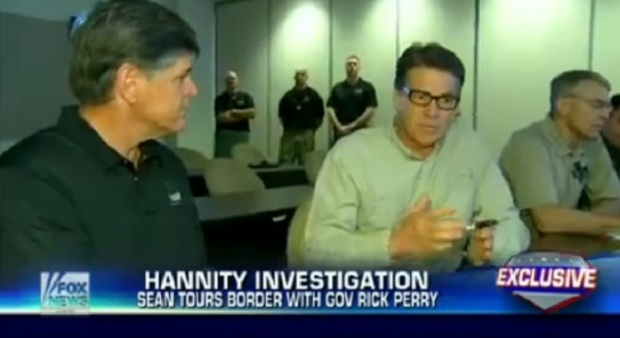 Sean Hannity Tours The Southern Border With Gov. Rick Perry