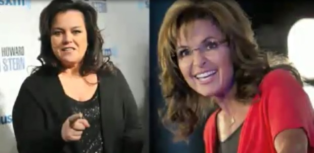 Sarah Palin and Rosie O'Donnell on the View? What do you think?