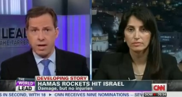 CNN's Jake Tapper Creams Former PLO Spokesperson