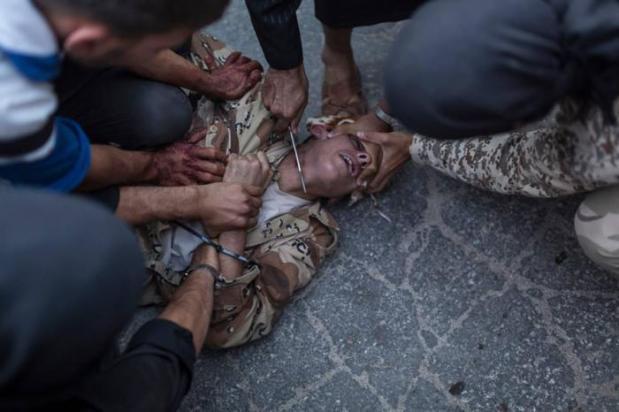 Convert Or Face Death: Iraqi Christians Flee Mosulن