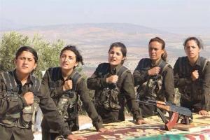 kurdish female fighters BuY3IRuCUAAr-HL