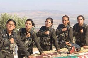 kurdish female fighters BuY3IRuCUAAr-HL
