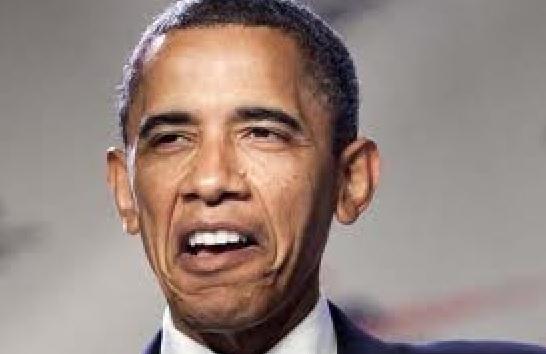 """Obama says """"Blah blah blah Eboli blahblah"""""""