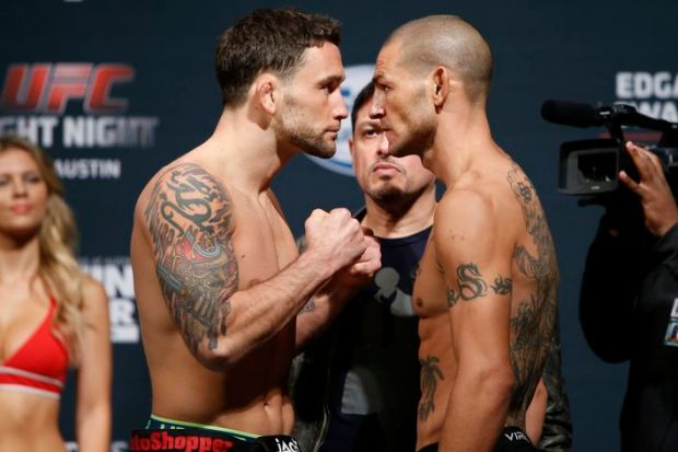 Frankie Edgar scores record-breaking finish over CubSwanson