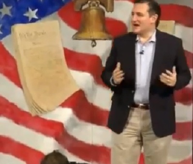 Good Speech- Sen. Ted Cruz – South Carolina Tea Party – The Mushy Middle