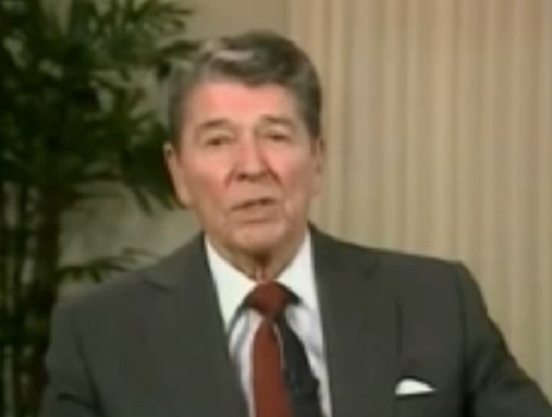 Ronald Reagan Talks About Milton Friedman