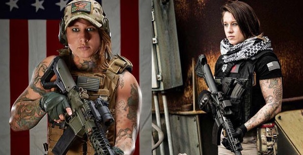 This Female Army Veteran is hunting something that shoots back