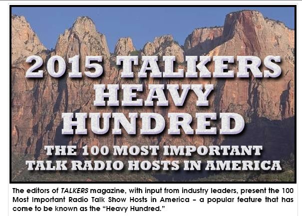 2015: Top Talkers On Radio – Talk Radio Heavy Hundred List