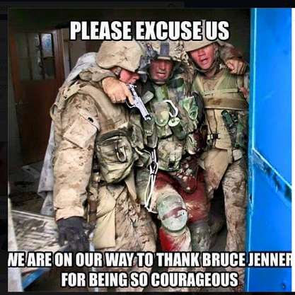 Bruce Jenner Is Not A Hero