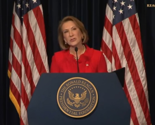Carly Fiorina Wants to Lead the Resurgence of A Great Nation