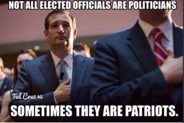 Not All Elected Officials Are Politicians, Sometimes They Are Patriots