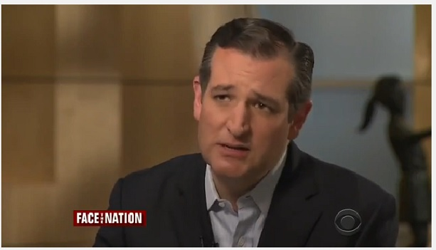Ted Cruz On Face The Nation – The 14th Amendment, birthright citizenship, illegal immigration and religious liberty.