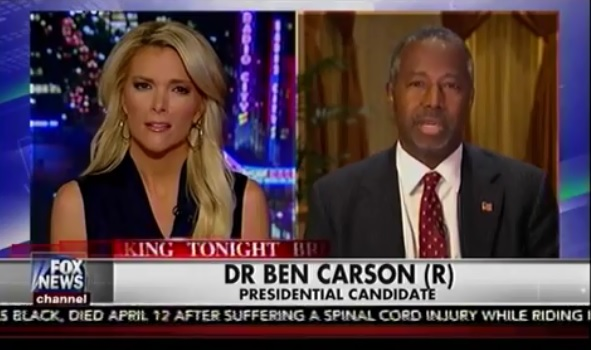 Dr. Ben Carson On The Kelly File – Talking About Kim Davis, Donald Trump & More