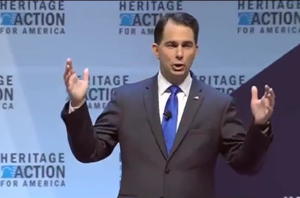 Scott Walker at the Heritage Action Presidential Forum