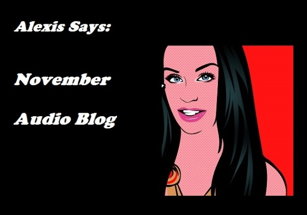 Alexis Deacon's Audio Blog – November 2015