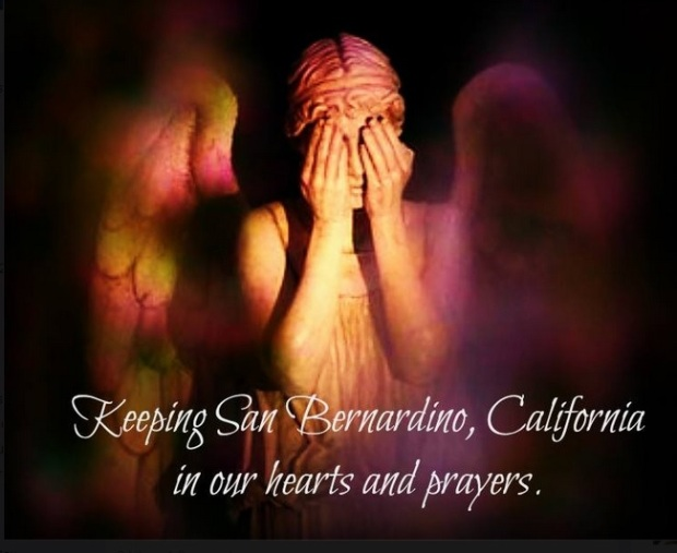 Sending Prayers To San Bernardino California
