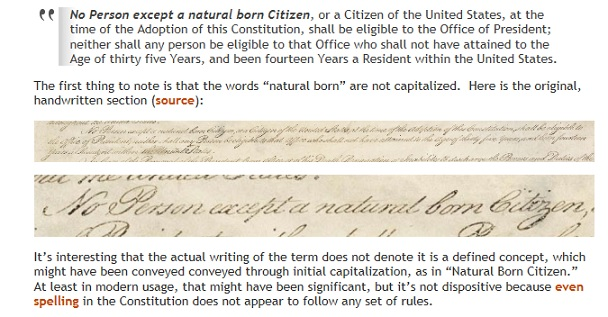 Cruz is A Natural Born Citizen – Brush Off The Birthers