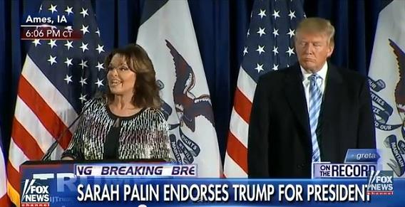 Sarah Palin Endorses Donald Trump ForPresident