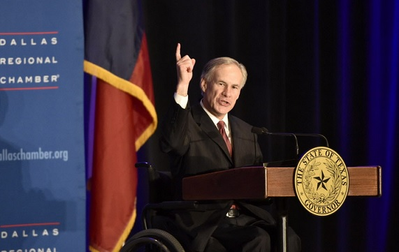 Texas Gov. Greg Abbott calls for Convention of States to take back states'rights